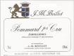 Domaine Jean-Marc Boillot Pommard Premier Cru Les Jarollières - label