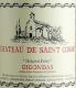 Château de Saint-Cosme Gigondas Hominis Fides - label