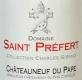 Domaine Saint-Préfert Châteauneuf-du-Pape Collection Charles Giraud - label