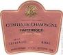 Taittinger Comtes de Champagne Rosé Grand Cru - label