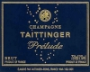 Taittinger Prélude Grand Cru - label