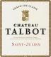 Château Talbot  Quatrième Cru - label