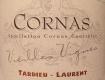 Tardieu-Laurent Cornas Vieilles Vignes - label
