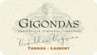 Tardieu-Laurent Gigondas Vieilles Vignes - label