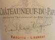 Tardieu-Laurent Châteauneuf-du-Pape Vieilles Vignes - label