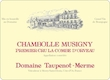 Domaine Taupenot-Merme Chambolle-Musigny Premier Cru La Combe d'Orveaux - label