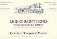 Domaine Taupenot-Merme Morey-Saint-Denis Premier Cru La Riotte - label