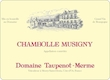 Domaine Taupenot-Merme Chambolle-Musigny  - label