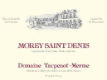 Domaine Taupenot-Merme Morey-Saint-Denis  - label
