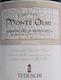 Tedeschi Amarone della Valpolicella Classico Capitel Monte Olmi - label