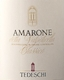 Tedeschi Amarone della Valpolicella Classico  - label