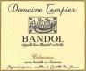 Domaine Tempier Bandol Cuvée Cabassaou - label
