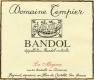 Domaine Tempier Bandol Cuvée la Migoua - label