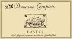 Domaine Tempier Bandol  - label