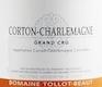 Domaine Tollot-Beaut et Fils Corton-Charlemagne Grand Cru  - label