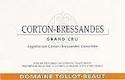 Domaine Tollot-Beaut et Fils Corton Grand Cru Bressandes - label
