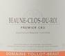 Domaine Tollot-Beaut et Fils Beaune Premier Cru Clos du Roi - label