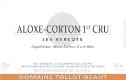 Domaine Tollot-Beaut et Fils Aloxe-Corton Premier Cru Les Vercots - label