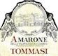 Tommasi Amarone della Valpolicella Classico  - label
