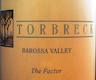 Torbreck The Factor - label