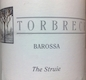 Torbreck The Struie - label