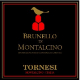 Tornesi Brunello di Montalcino  - label