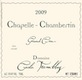 Domaine Cécile Tremblay Chapelle-Chambertin Grand Cru  - label