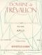 Domaine de Trévallon Alpilles Rouge - label