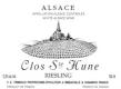 Trimbach Riesling Clos Sainte Hune - label