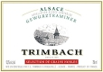 Trimbach Gewürztraminer SGN - label