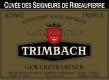 Trimbach Gewürztraminer Ribeaupierres - label