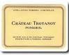 Château Trotanoy  - label