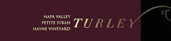 Turley Wine Cellars Petite Syrah Hayne Vineyard - label