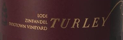 Turley Wine Cellars Dogtown Vineyard Zinfandel - label
