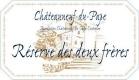 Domaine Pierre Usseglio et Fils Châteauneuf-du-Pape Réserve des Deux Frères - label