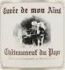 Domaine Pierre Usseglio et Fils Châteauneuf-du-Pape Cuvée de Mon Aïeul - label