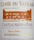 Château Sixtine Châteauneuf-du-Pape Cuvée du Vatican - label