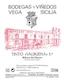 Bodegas Vega-Sicilia Valbuena - label
