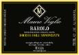 Mauro Veglio Barolo Rocche dell'Annunziata - label