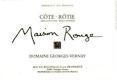 Domaine Georges Vernay Côte Rôtie Maison Rouge - label