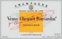 Veuve Clicquot-Ponsardin Vintage Rich - label