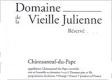 Domaine de la Vieille Julienne Châteauneuf-du-Pape Réservé - label
