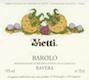 Vietti Barolo Ravera - label