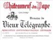 Domaine du Vieux Télégraphe Châteauneuf-du-Pape Blanc - label