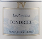 Domaine François Villard Condrieu De Poncins - label
