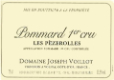 Domaine Joseph Voillot Pommard Premier Cru Les Pézerolles - label