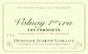 Domaine Joseph Voillot Volnay Premier Cru Frémiets - label