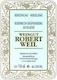 Weingut Robert Weil Kiedricher Gräfenberg Riesling Auslese - label