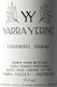Yarra Yering Underhill Shiraz - label