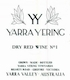 Yarra Yering Dry Red No.1 - label
